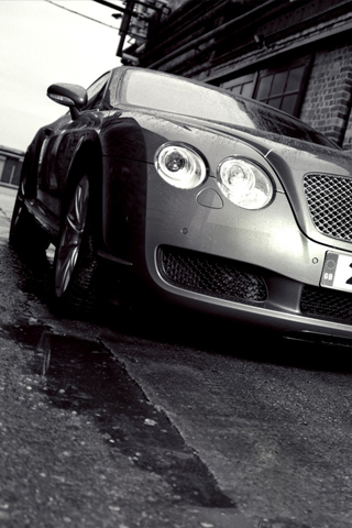 Artistic photo of a Bentley