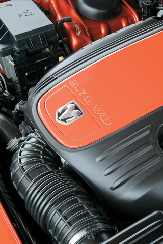 5.7l V8 dodge engine