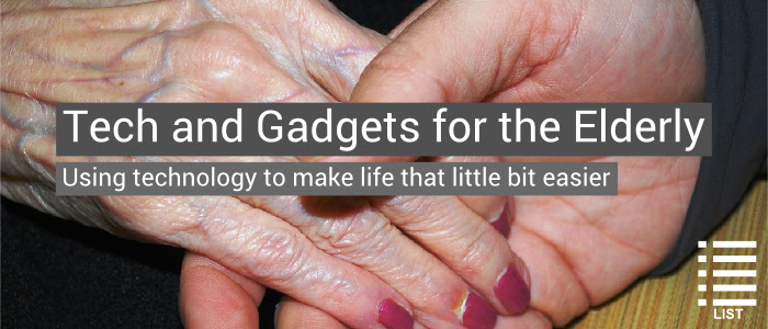 Gadgets for elderly