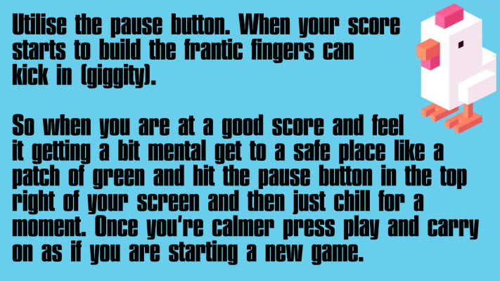 Use pause button