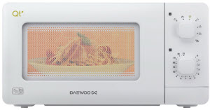 Daewoo QT1 - one of the best small microwave ovens for sale in UK