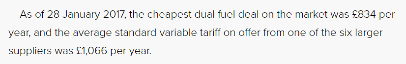 Cheapest duel fuel deal
