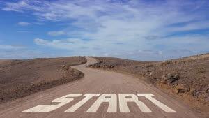 Start of journey