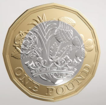 2017 one pound coin