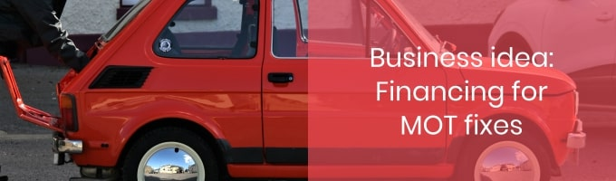 Financing for MOT fixes