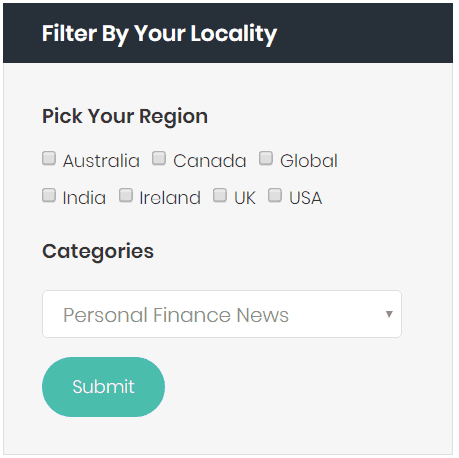 Filter news stories by location
